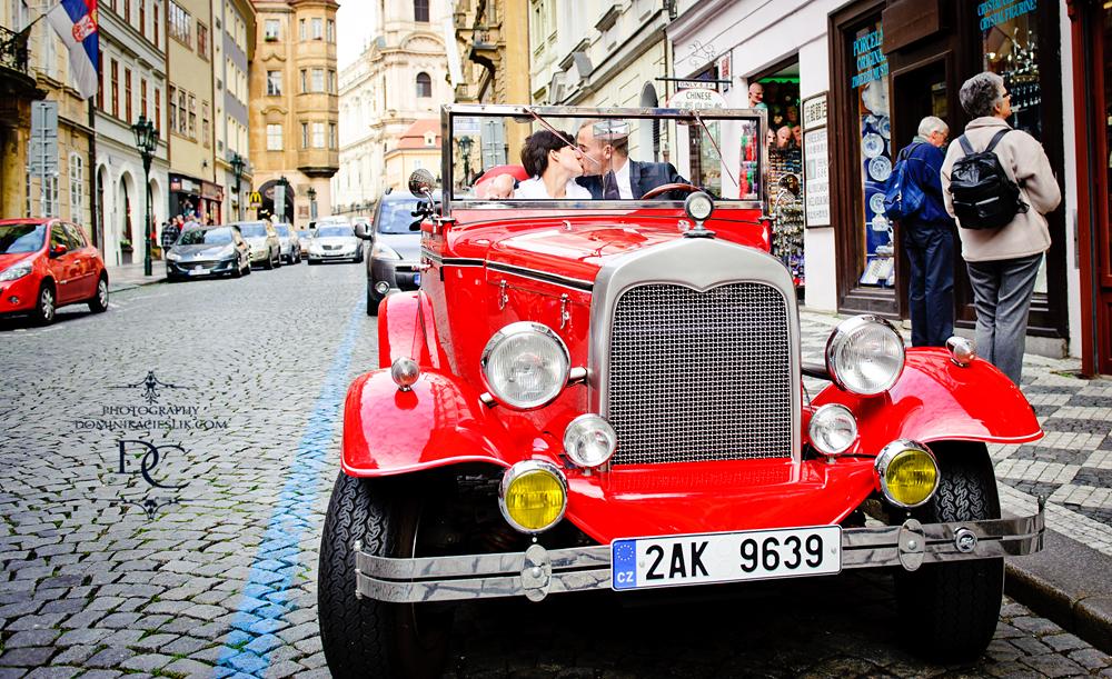 Anita & Kuba-plener ślubny w Pradze