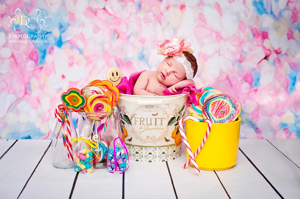 Milenka-sesja noworodkowa