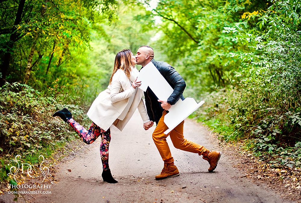 Ania & Marcin sesja z okazji 1-wszej rocznicy ślubu