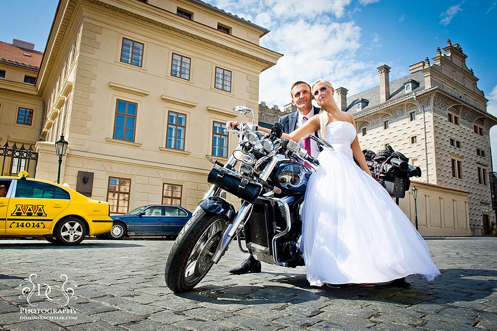 Ola & Marcin-plener ślubny w Pradze