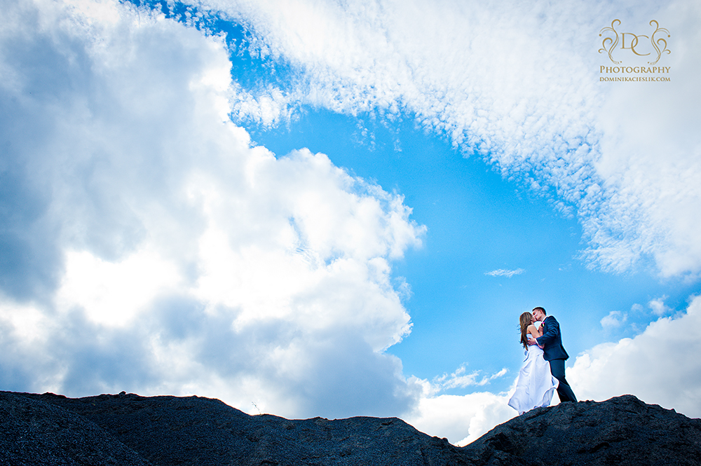 D & M plener ślubny